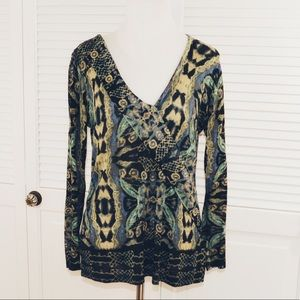 NIC+ZOE Drape Sweater, Size M